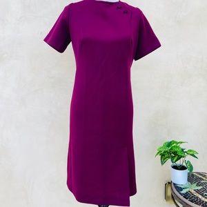 Vintage Handmade 1960s Sheath Dress